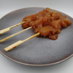 Kipsaté (2 stokjes)
